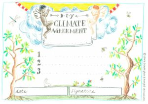 Free printable DIY Climate Agreement